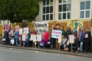 Parents march to save Ysgol Cwmgors