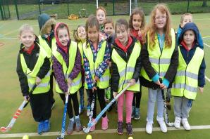Ysgol y Bedol pupils turn out for unveiling of Cwmaman's new £110k multi-use games area